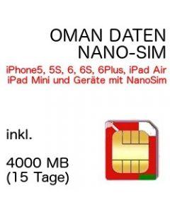Oman nano-SIM