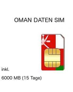 omanische SIM Oman