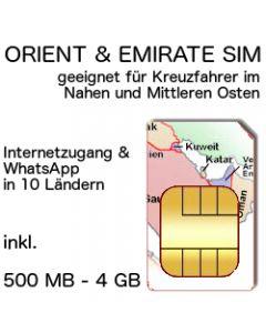 KREUZFAHRT SIM ORient Emirate