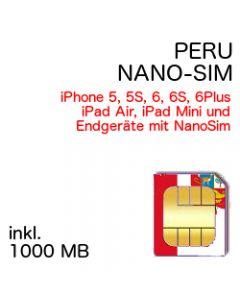 Peru NANO-SIM