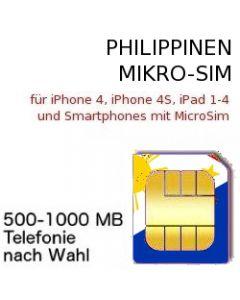 Philippinen MICRO SIM