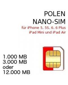 Polen NANO SIM