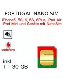 Portugal NANO SIM