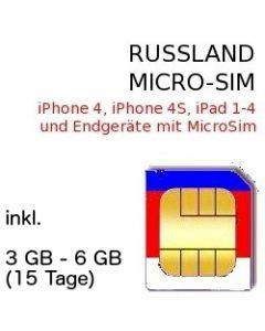 Russland MICRO SIM