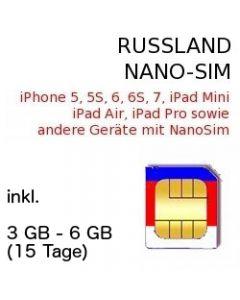 Russland NANO SIM