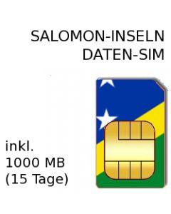 SALOMON-Inseln SIM
