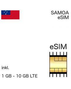 Samoanische eSIM Samoa