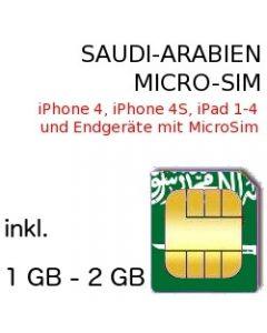 Saudi-Arabien MICRO SIM
