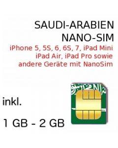 Saudi-Arabien NANO SIM