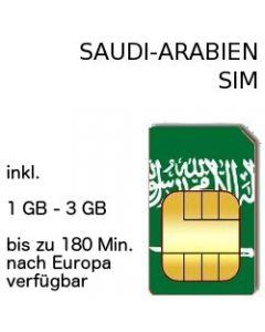 Saudi-Arabien SIM