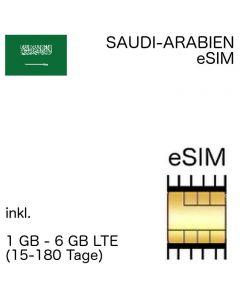 Saudische esim Saudi-Arabien