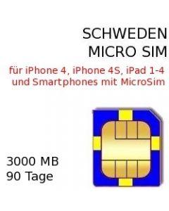 Schweden Micro-SIM