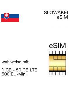 slowakische eSIM Slowakei