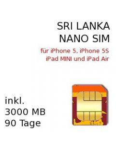 Sri Lanka NANO-SIM