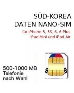 Südkorea NANO-SIM