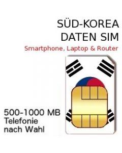 Süd-Korea SIM