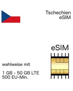 Tschechische eSIM Tschechien