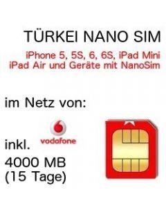 Türkei NANO-SIM Vodafone