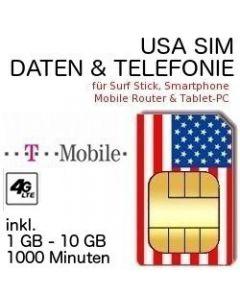 USA SIM T-Mobile