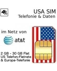 USA SIM LTE