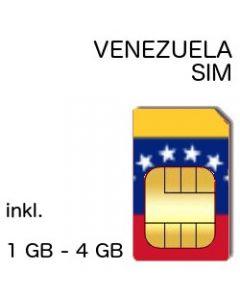 Venezuela SIM
