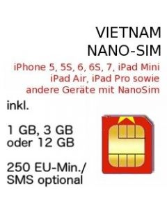 Vietnam NANO SIM