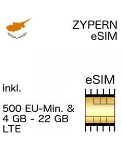 Zypern eSIM CYprus