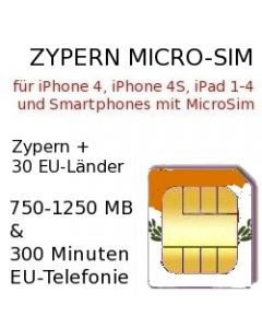 Zypern micro-sim