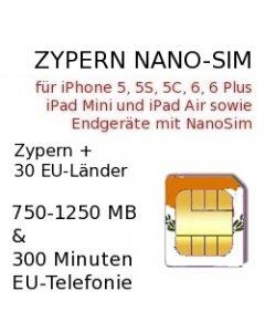 Zypern Nano-SIM